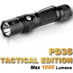 Fenix PD35 TAC (Tactical Edition) LED Taschenlampe mit 1000 Lumen