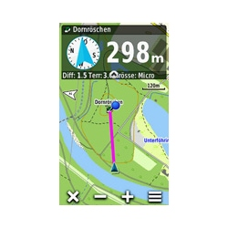 Garmin Oregon 650 Profil Horizontal