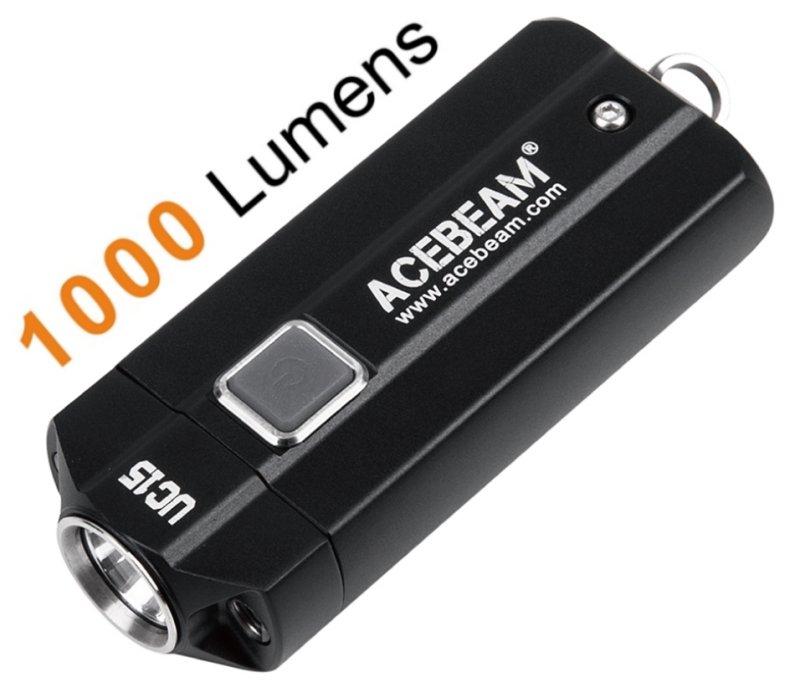 Schlüsselanhänger Taschenlampe1000 Uc15Schwarz Acebeam Led Schlüsselanhänger Uc15Schwarz Acebeam 34jqcSA5RL