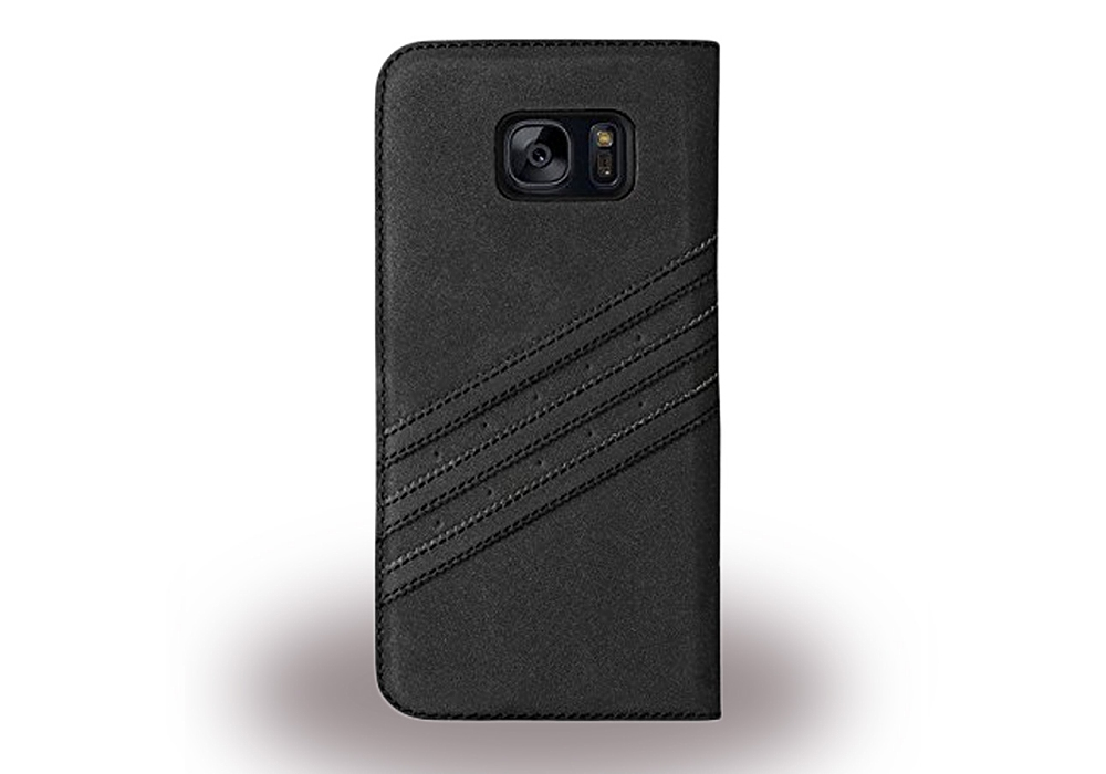 adidas basics book cover handytasche schwarz f r samsung galaxy s7 edge pda max. Black Bedroom Furniture Sets. Home Design Ideas