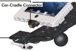 Andres Industries Car Cradle Connector V 2.1 - KFZ-Ladeadaper für aiShell Air, mini, mini+