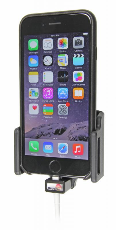 brodit kfz halter mit ladekabel fixierung 515666 f r apple. Black Bedroom Furniture Sets. Home Design Ideas