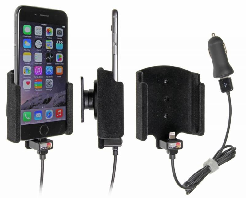 brodit kfz halter mit ladekabel 521660 f r apple iphone 6s. Black Bedroom Furniture Sets. Home Design Ideas