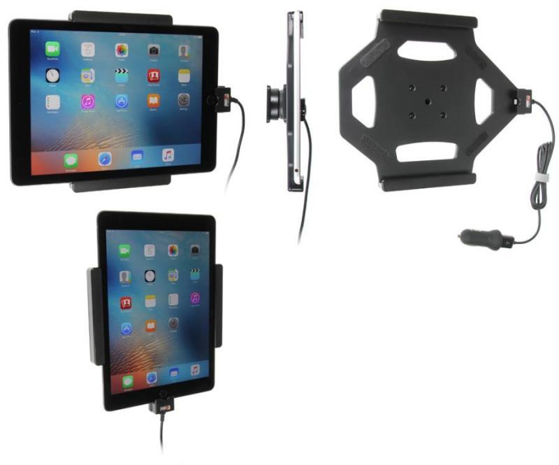 brodit kfz halter mit ladekabel 521684 f r apple ipad air 2 a1566 a1567 ipad pro 9 7 a1673. Black Bedroom Furniture Sets. Home Design Ideas