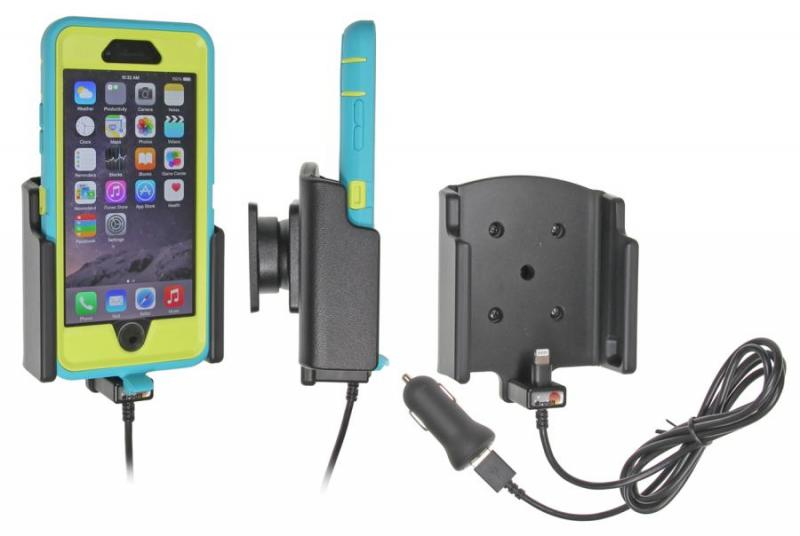 brodit kfz halter mit ladekabel 521732 f r apple iphone 6s. Black Bedroom Furniture Sets. Home Design Ideas