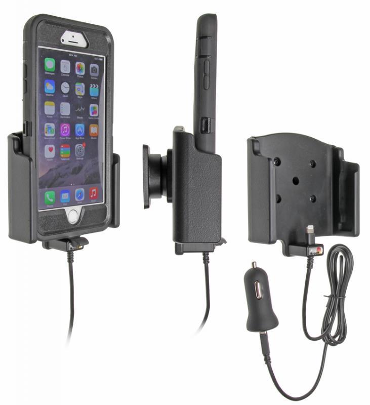 brodit kfz halter mit ladekabel 521741 f r apple iphone 6s. Black Bedroom Furniture Sets. Home Design Ideas