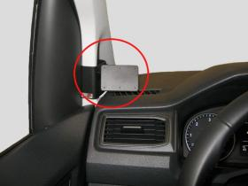 Brodit ProClip 804221, links für VW Caddy (Bj. 2004-2020, Lenkrad links)