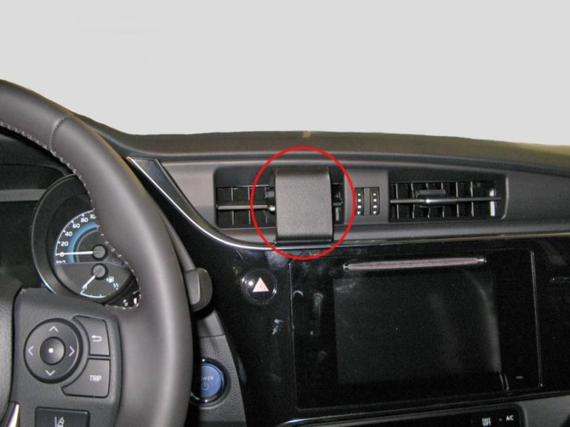 Lampen Toyota Auris : Brodit proclip armaturenbrett mitte für toyota auris full
