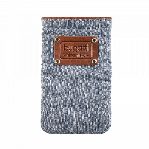 bugatti Elements patch M, denim blue (07976) Produktbild 1