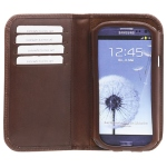 Bild von: bugatti Smart BookCase, brown (08071) f�r Samsung Galaxy S3 I9300
