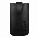 Bild von: bugatti SlimCase Leather Classic XL, black (08041) f�r HTC Titan