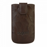 Bild von: bugatti SlimCase Leather Unique M, tobacco (07810) f�r Viewsonic V350