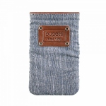 Bild von: bugatti Elements patch XL, denim blue (08111) f�r HTC One XL