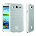 Bild von: bugatti ClipOn Cover, white brick (08139) f�r Samsung Galaxy S3 I9300