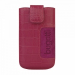 Bild von: bugatti SlimCase Leather Croco XL, pink (08103) f�r Samsung Galaxy S3 I9300