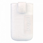 Bild von: bugatti SlimCase Leather Croco XL, white (08107) f�r Samsung Galaxy S3 I9300