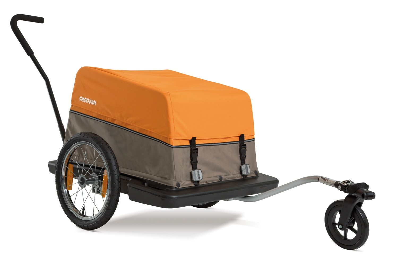 croozer cargo fahrradanh nger f r lasten mit fahrrad und handwagen set pda max. Black Bedroom Furniture Sets. Home Design Ideas