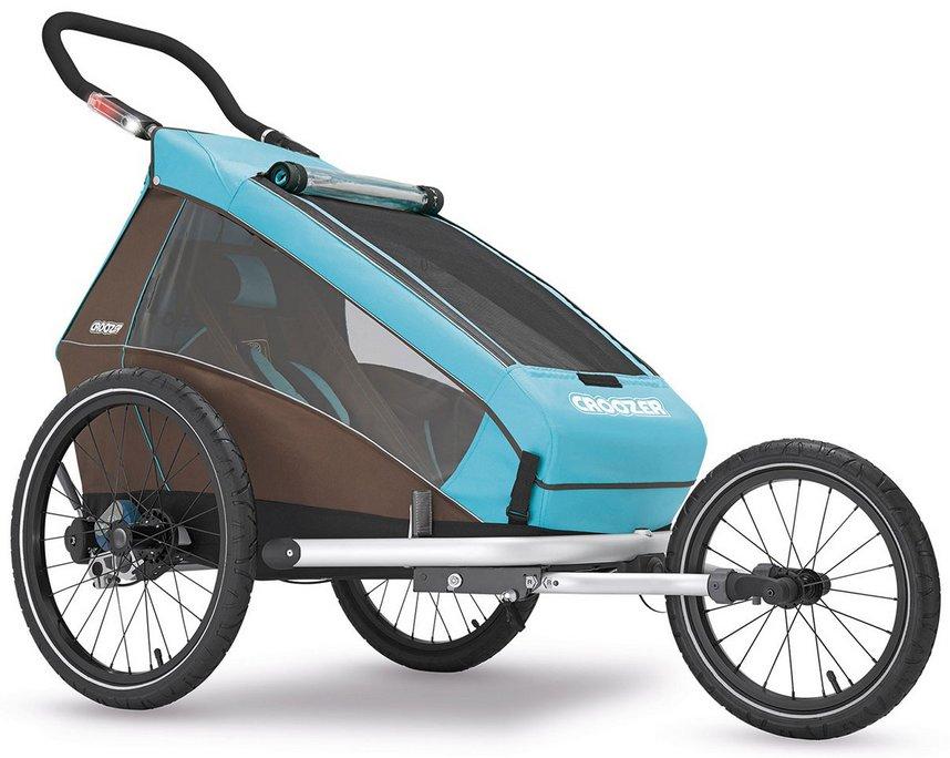 croozer kid plus for 1 modell 2016 kinderfahrradanh nger mit federung fahrrad set buggy. Black Bedroom Furniture Sets. Home Design Ideas