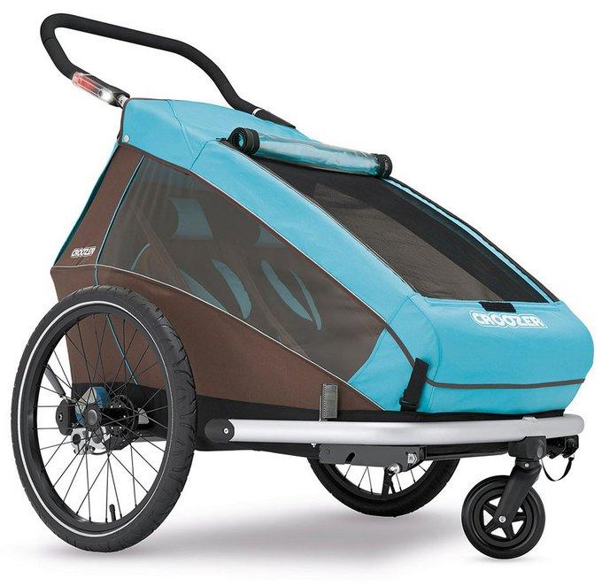 croozer kid plus for 2 modell 2016 kinderfahrradanh nger mit federung fahrrad set buggy. Black Bedroom Furniture Sets. Home Design Ideas