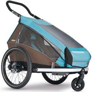 Croozer Regenschutzverdeck für Kid Plus for 1 / Kid for 1 (ab Modell 2014)