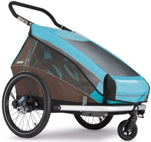 Croozer Regenschutzverdeck für Kid Plus for 2 / Kid for 2 (ab Modell 2014)