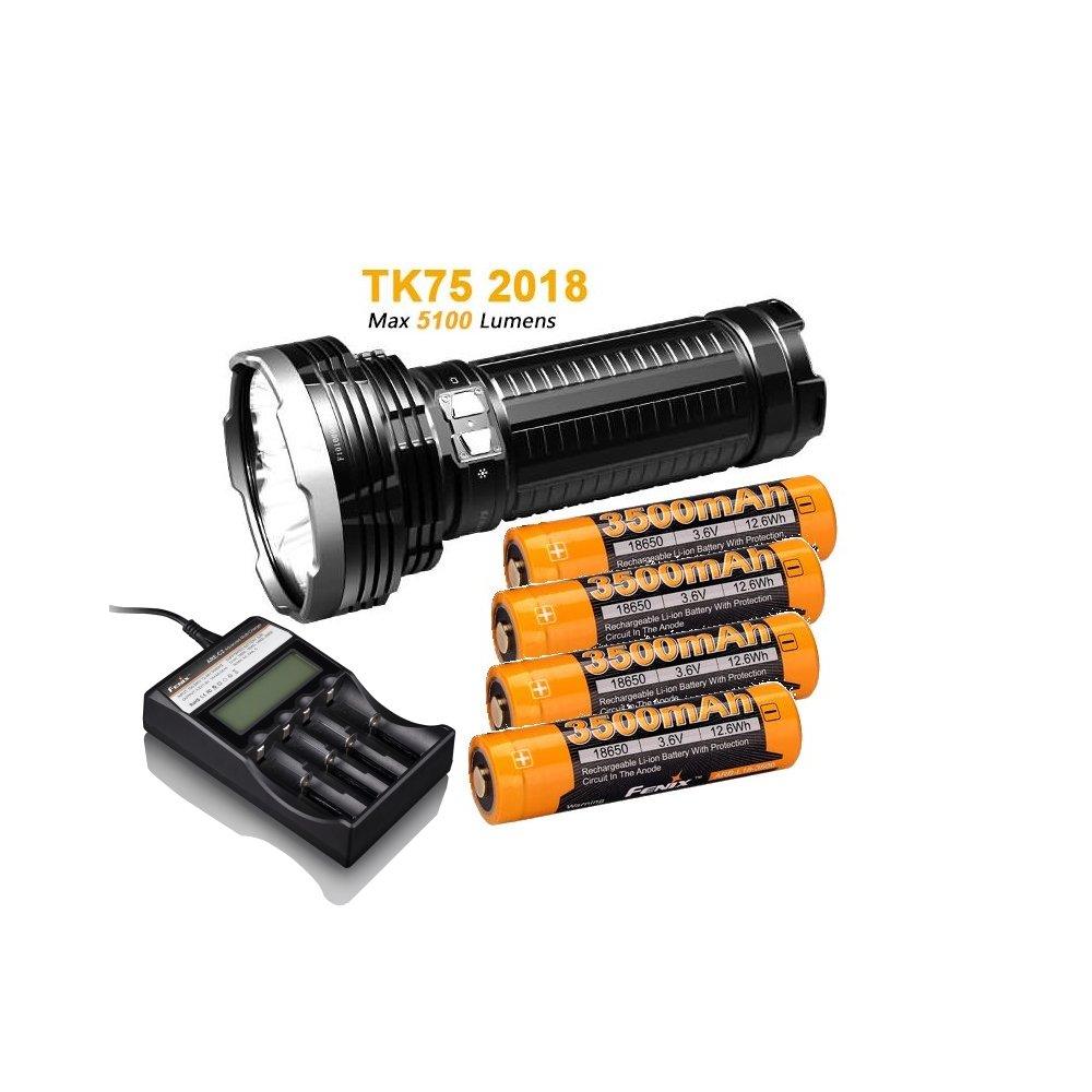 fenix tk75 2018 wiederaufladbare led taschenlampe 5100. Black Bedroom Furniture Sets. Home Design Ideas
