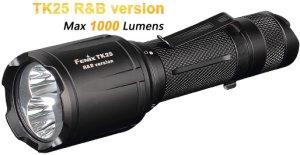 Fenix TK25R/&B rote und blaue LED Taschenlampe