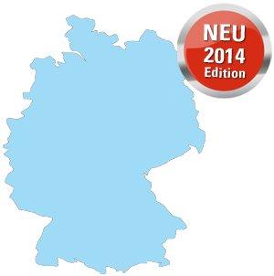 falk premium outdoor karte deutschland Falk Premium Outdoor Karte Deutschland (168118) für IBEX/ LUX