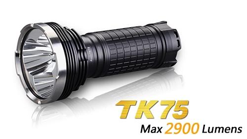 fenix tk75 led taschenlampe mit 2900 lumen inkl 18650. Black Bedroom Furniture Sets. Home Design Ideas