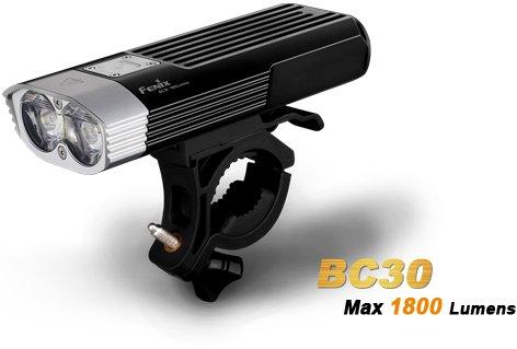 fenix bc30 led fahrradlampe mit 1800 lumen inkl 2 fenix. Black Bedroom Furniture Sets. Home Design Ideas