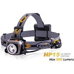 Fenix HP15 Ultimate Editon - LED Stirnlampe mit 900 Lumen inkl. 4 AA Batterien
