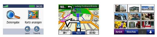 garmin n vi 205 mit kartenmaterial von deutschland. Black Bedroom Furniture Sets. Home Design Ideas