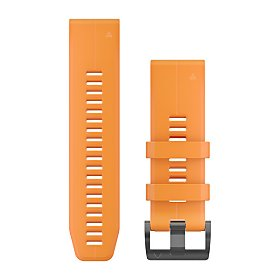Garmin QuickFit 26 Armband, orange aus Silikon (010-12741-03)