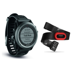 Garmin fenix 3, grau Performer-Bundle