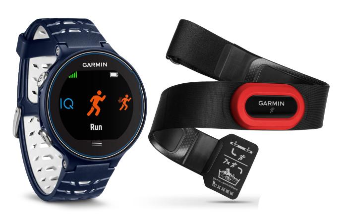 Garmin Forerunner 630, blau HRM Bundle - der Profi-Laufcoach am Handgelenk inklusive Brustgurt HRM-Run