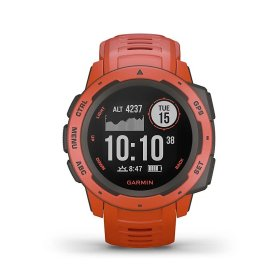 Garmin Instinct, rot - robuste Outdoor Smartwatch