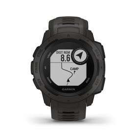 Garmin Instinct, schwarz - robuste Outdoor Smartwatch