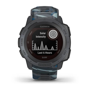 Garmin Instinct Solar Surf, pipeline - GPS Outdoor Smartwatch mit extra Power dank Solarenergie