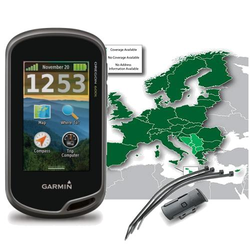garmin oregon 600t fahrrad bundle garmin gps mit. Black Bedroom Furniture Sets. Home Design Ideas
