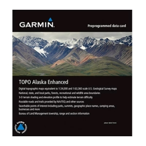 Garmin TOPO Alaska Enhanced für Garmin eTrex 22x