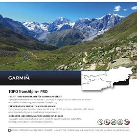 Garmin TOPO TransAlpine+ PRO für Garmin Oregon 750
