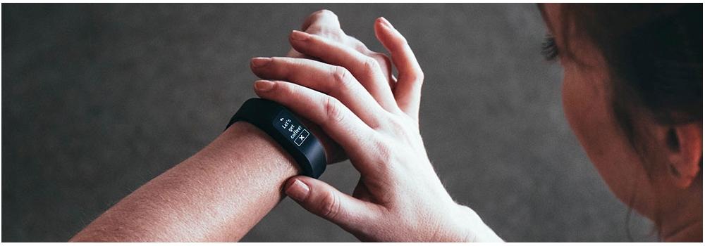 garmin vivosmart 3 schwarz large handgelenkumfang 148 bis 215 der fitness tracker mit. Black Bedroom Furniture Sets. Home Design Ideas
