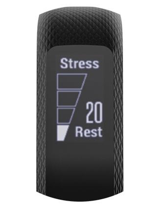 garmin vivosmart 3 lila handgelenkumfang 122 bis 188 mm der schlanke fitness tracker mit. Black Bedroom Furniture Sets. Home Design Ideas