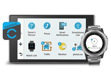 Garmin Watch Link App