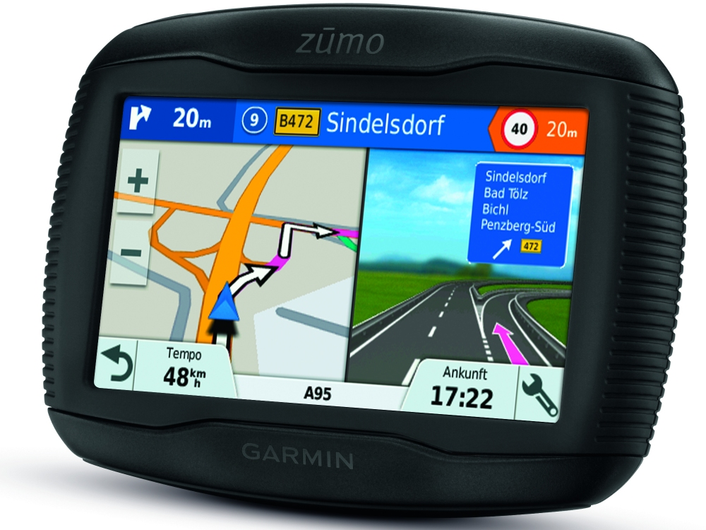 garmin zumo 345lm motorrad navi mit kartenmaterial zentraleuropa pda max. Black Bedroom Furniture Sets. Home Design Ideas