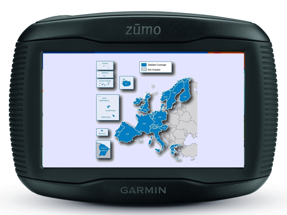 garmin zumo 345lm motorrad navi mit kartenmaterial westeuropa pda max. Black Bedroom Furniture Sets. Home Design Ideas