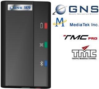 gns 5870 bluetooth gps und tmc empf nger mit mtk 32 kanal chipsatz pda max. Black Bedroom Furniture Sets. Home Design Ideas