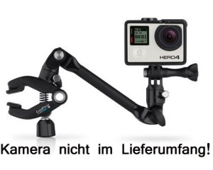 GoPro The Jam (Adjustable Music Mount) - Instrumentenhalter für GoPro HD HERO / HD HERO2 / HERO3 / HERO4