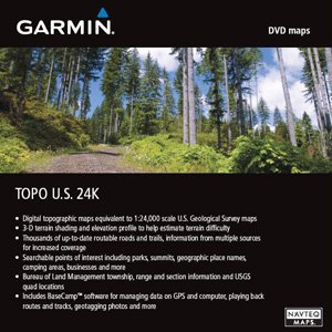 Garmin TOPO Karte USA West für Garmin eTrex 20x