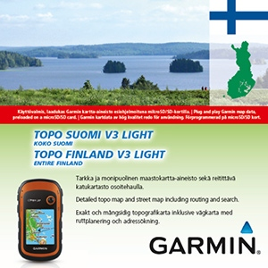 Garmin TOPO Finnland v3 Light für Garmin GPSMap 60Cx